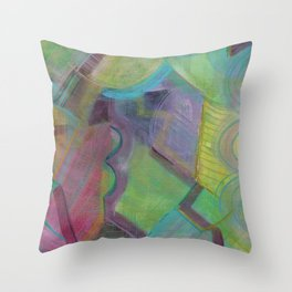 Flicka Flicka Flicka Throw Pillow