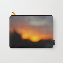 Blurred Suns Carry-All Pouch