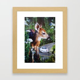 Bambi Blvd Framed Art Print