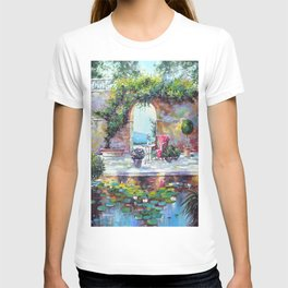Cozy courtyard T-shirt