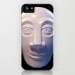 Alien-human hybrid head iPhone Case