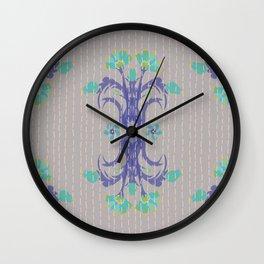 Kantha bouquet 4 Wall Clock
