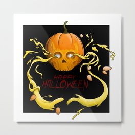 Feel Creepy any day of the year Metal Print