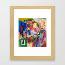 Through the Shutters  Framed Art Print