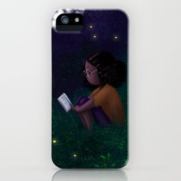 Summer Reading iPhone Case