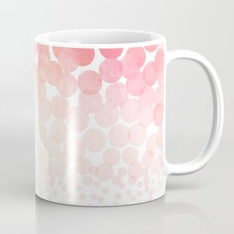 Circle Descent Rose Gold Coffee Mug