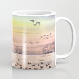 Duck Hunting With Granddad Coffee Mug