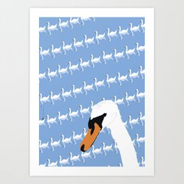 The Swan Gallery Giftshop Art Print