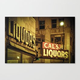 Chicago Loop Watering Hole Canvas Print