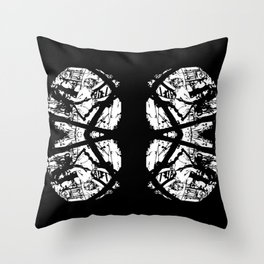 Butterfly Lungs Throw Pillow