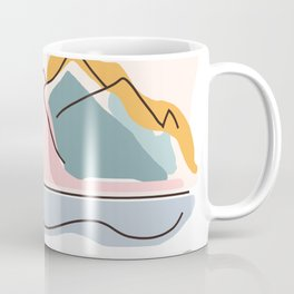 Minimalistic Landscape Coffee Mug