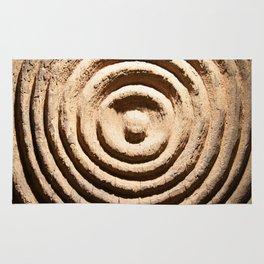 Abstract Wood Art Rug