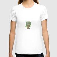 dress T-shirts featuring Tree Dress by Lea Helen Barone