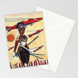 The Liberator and the Airships Stationery Cards