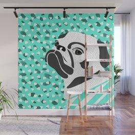 pug-dog 3 Wall Mural