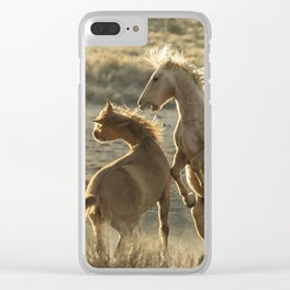 Rough Play Clear iPhone Case