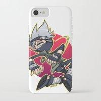 kakashi iPhone & iPod Cases featuring Kakashibi by Jackce