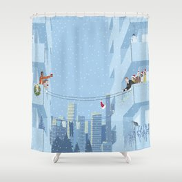 Pass the Cheer 1 Shower Curtain