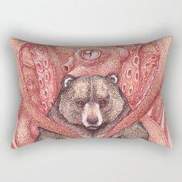 THE KRAKEN AND THE KODIAK Rectangular Pillow