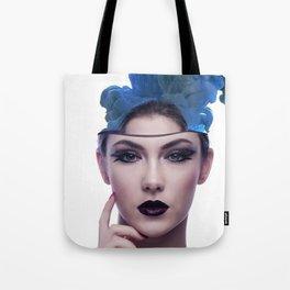 Smoke head woman Tote Bag