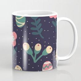 Floral Easter Egg Day Holiday Design Coffee Mug