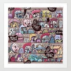 Don't Panic (Resist) Art Print