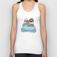 vampire weekend Tank Tops featuring Holiday Vampire Weekend by Pily Clix