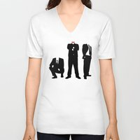 suits V-neck T-shirts featuring Suits by ChrisShirts