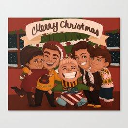 Christmas OT5 Canvas Print