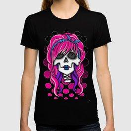 'Rockabilly skull' T-shirt