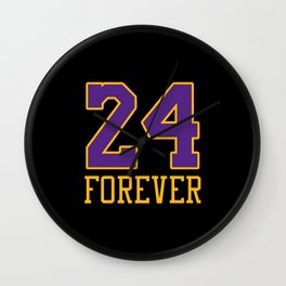 24 FOREVER Always Wall Clock