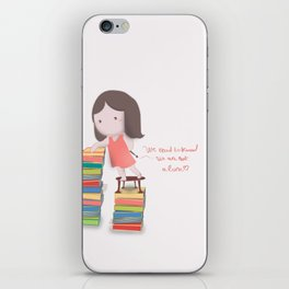 lets read  iPhone Skin