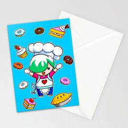 Let's get baking! Stationery Cards