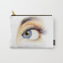 An eye Carry-All Pouch