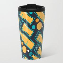 October Fest Pattern Travel Mug