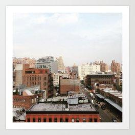 NYC Summer Art Print