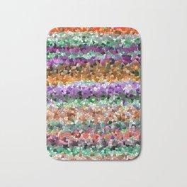 Mosaic Layered Flower Garden Bath Mat