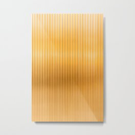 Vertical Amarillo Metal Print
