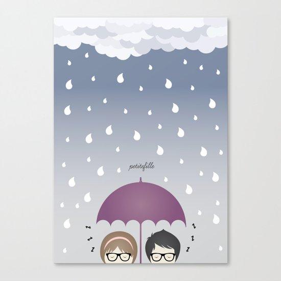Oh, rainy day! Canvas Print