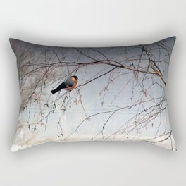 bullfinch, gil Rectangular Pillow