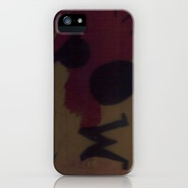 Crash iPhone Case