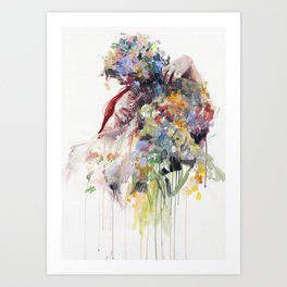 scentless flowers Art Print