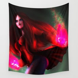 Scarlet Witch Wall Tapestry