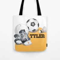 sports Tote Bags featuring Sports by Neuneu Booboo