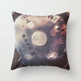 Vintage Stitz Light Meter Diptych Throw Pillow