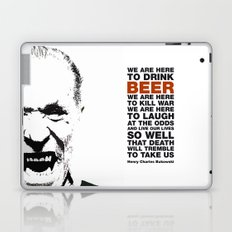 beer&bukowski Laptop & iPad Skin