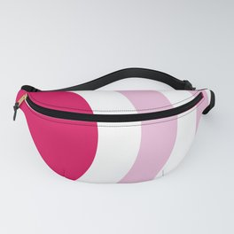 Beach girl and Ice cream rainbow by the sea Fanny Pack