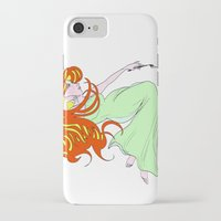 mucha iPhone & iPod Cases featuring Mucha Gracias by Asia Sanchez