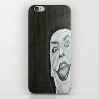 jack nicholson iPhone & iPod Skins featuring Jack Nicholson by Akeel Ford