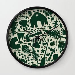 C@MP Wall Clock